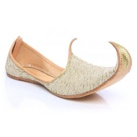 Prince Ali Shoes - Men Traditional Indian Khussa Shoes