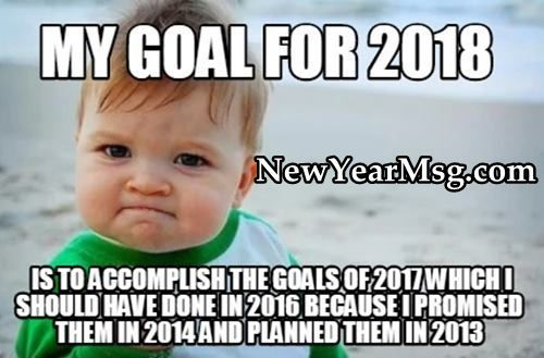 Funny New Year Wishes And Quotes 2018 Funny New Year Quotes About New Year Happy New Year Meme