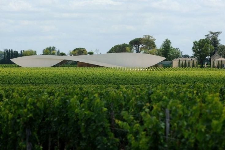 Chateau Cheval Blanc Winery by Christian de Portzamparc