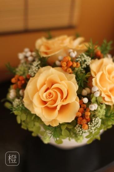 Japanese style preserved flower urara http://item.rakuten.co.jp/fine-flower/ag75/ 和風プリザーブドフラワー