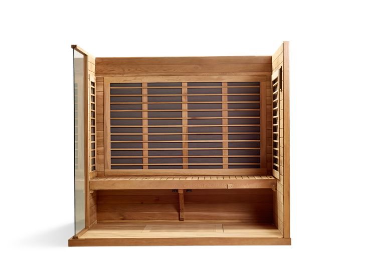 Signature Series 4 - Four person far-infrared home sauna » Sunlighten  #infraredsauna #homesauna #infrared #Sunlighten #homedesign #design #home #sauna