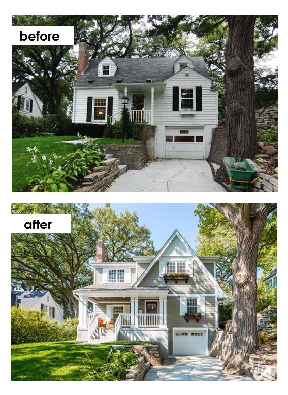Porch Vs Deck Which Is The More Befitting For Your Home: 159 Best Images About Before And After Exterior Makeovers