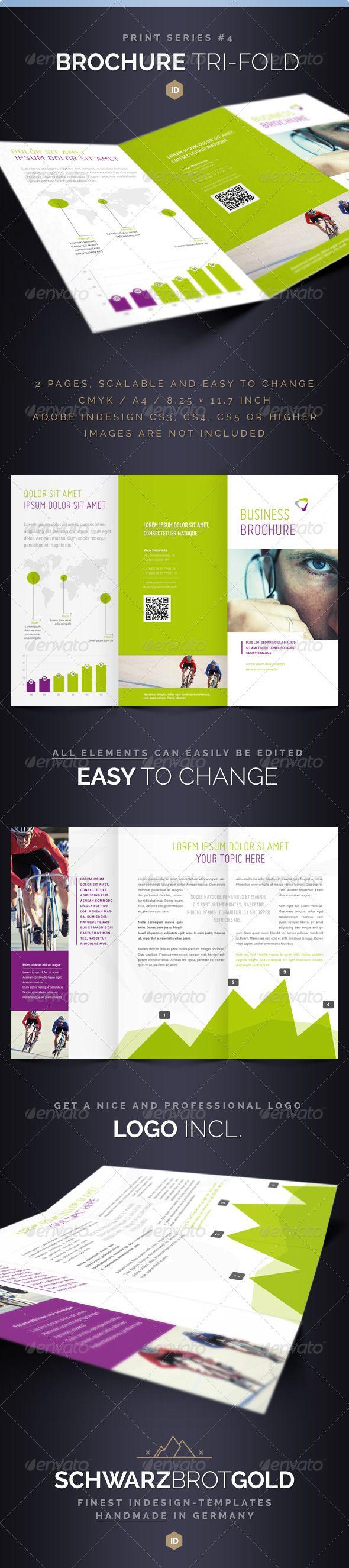 Brochure Tri-Fold DIN Long Series 4 - Corporate Brochures