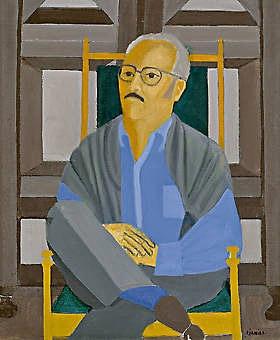 Leilão:Março de 2007  Título:Retrato de Antonio Callado (Estudo)  Descrição: óleo s/ tela, ass. inf. dir. e tit. no verso Reproduzido no catálogo da exposição Djanira, no MNBA de out. a dez. 1976 (c. 1970) ex-coleção Antonio Callado  73 x 60 cm