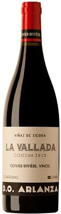 La Vallada 2013 de Olivier Riviere en DO Arlanza #vino tinto de producción limitada