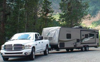 "How to video & tutorial on backing up your camper trailer.  Cool ""scoop"" method. From CampingRoadTrip.com"