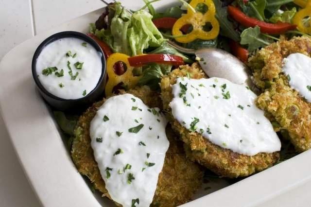 Tasty fava bean falafel burgers | Food - Mediterranean | Pinterest