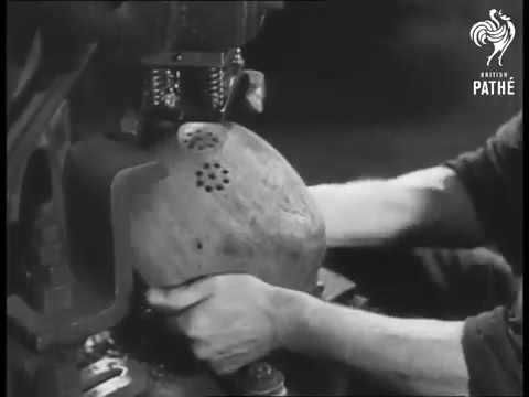 This is what happened to German helmets after WWII : videos