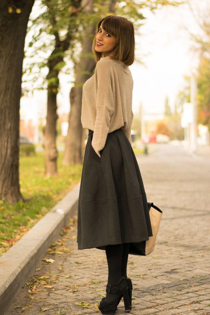 #midiskirt #outfit