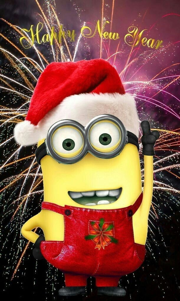 Minions funny by Charlene in 2020 Minion christmas