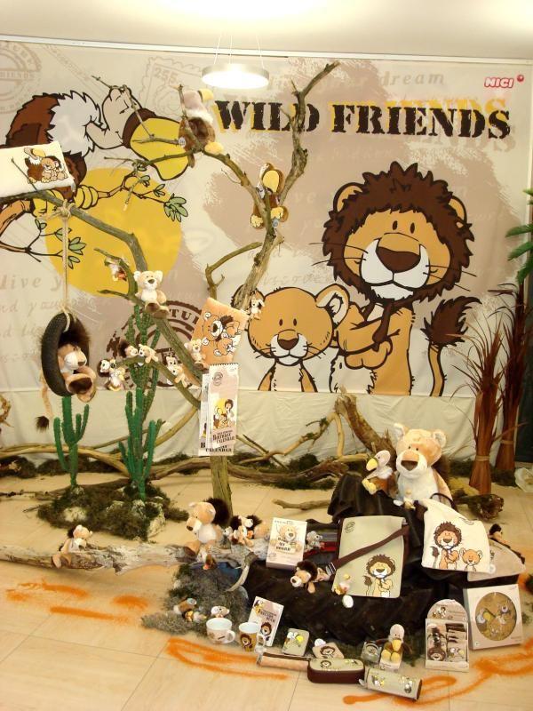 Nici Wandtattoo Wild Friends : Nici wild friends patterns