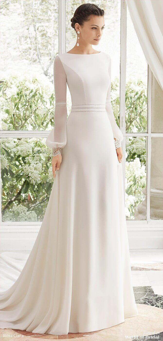 Cuzco Bridal 2020 Rosa Clara Collection Top Wedding Dresses Second Wedding Dresses Bridal Dress Design