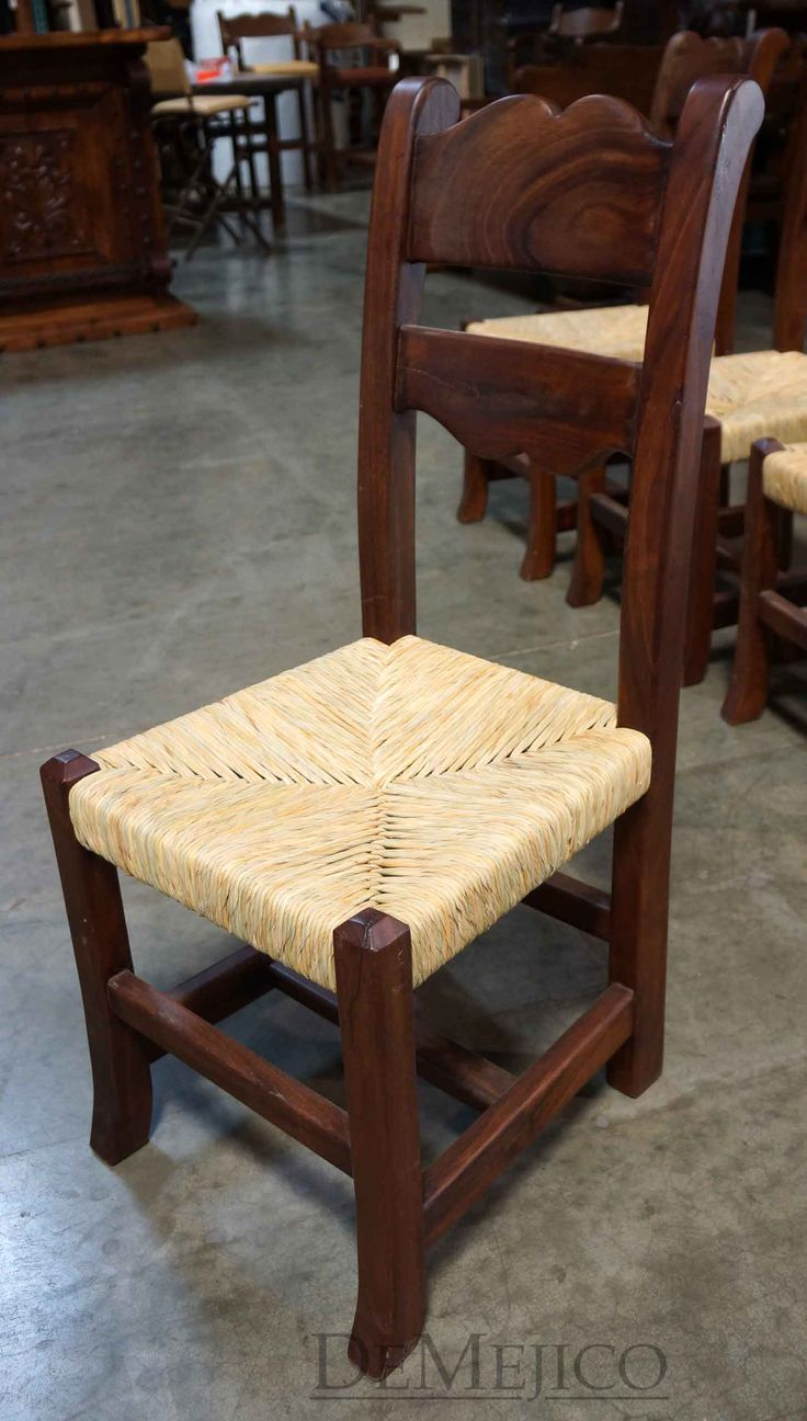 Charming The Silla Circa Tejida Especial Is Our Traditional Spanish Kitchen Chair  With A Woven Seat.