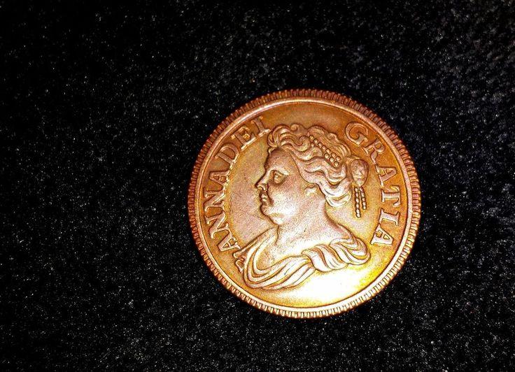 GRAN BRETAÑA  1714 1 CENTAVO, COBRE,   FAKE | eBay