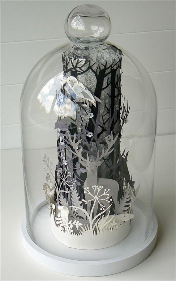 Helen Musselwhite | Papercraft Dioramas