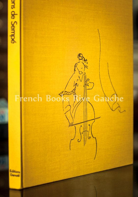 Jean Jacques Sempé, les musiciens de Sempé  1979, 장자끄 쌍뻬 의  삽화집 쌍뻬의 음악가들입니다.  1978년 뉴요커에 자신의 이름으로  첫 표지를 싣기 시작하면서 내놓은 초창기 개인삽화집으로서 의미가 있는 책입니다.