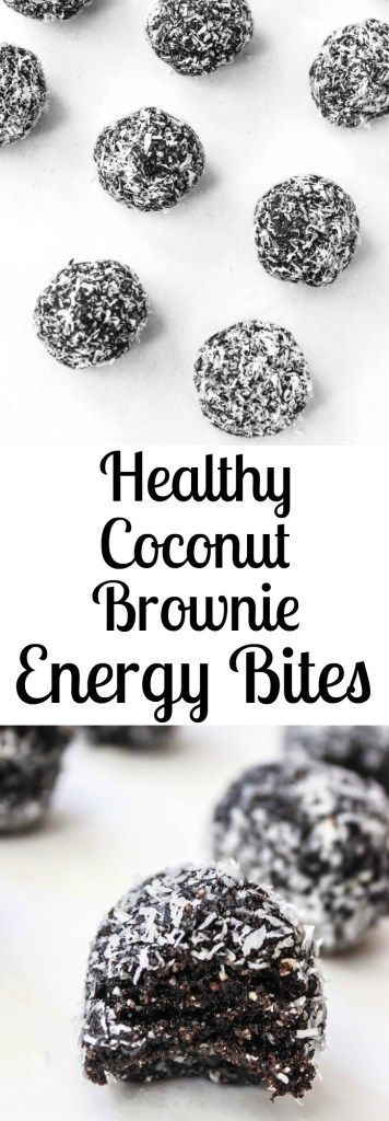 Ingredients: 1 cup medjool dates, pitted 1/2 cup raw walnuts 1/2 cup raw almonds 1/4 cup unsweetened cocoa powder 1/4 cup u...