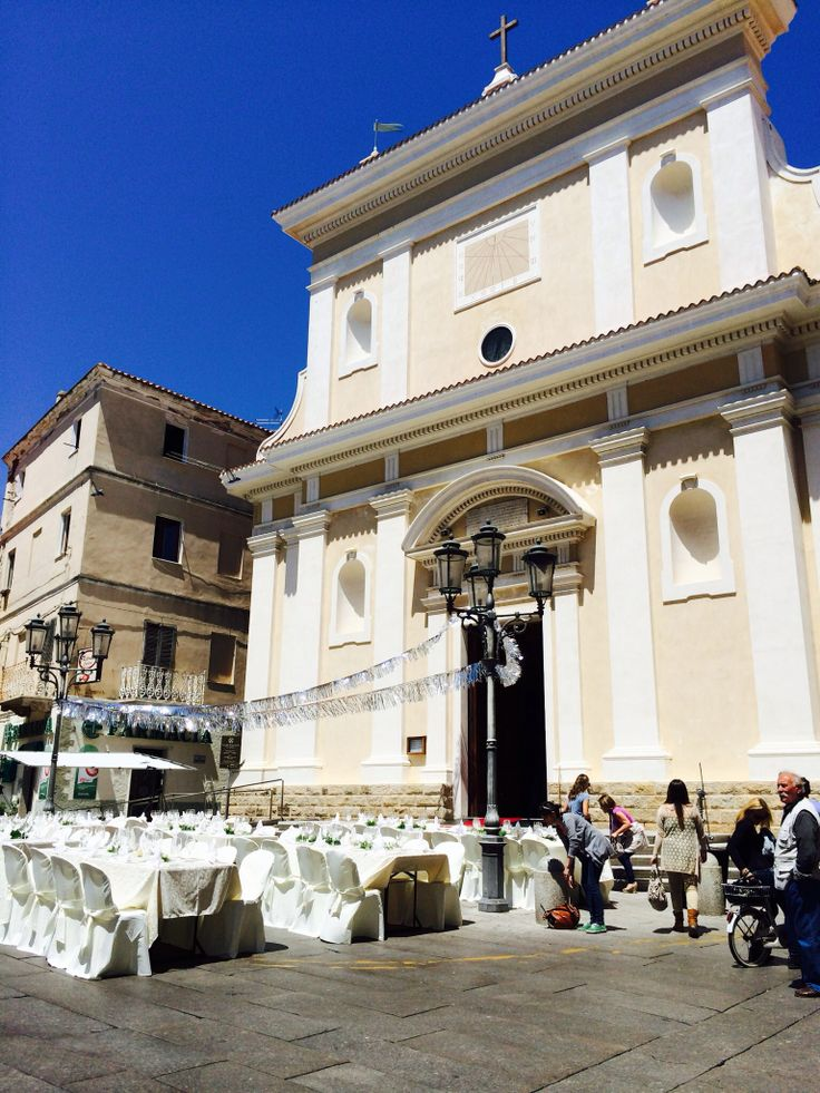 Santa Maria Maddalena, the main Church of the island in La Maddalena ,