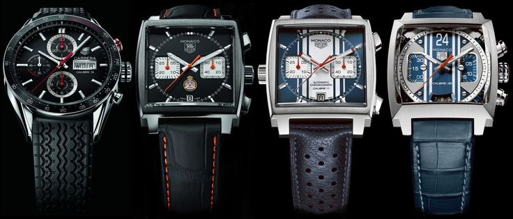 luxury watches by TAG Heuer
