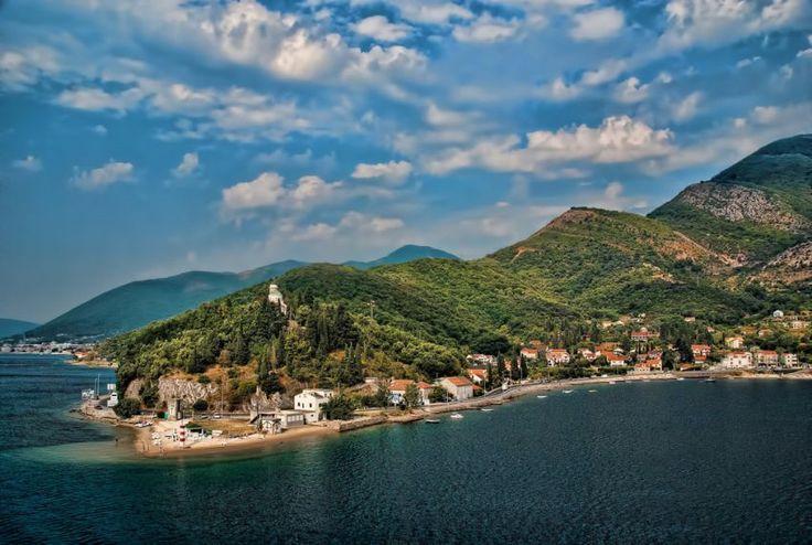 Pesisir pantai Montenegro