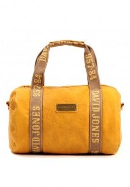 Sac polochon david jones Jaune