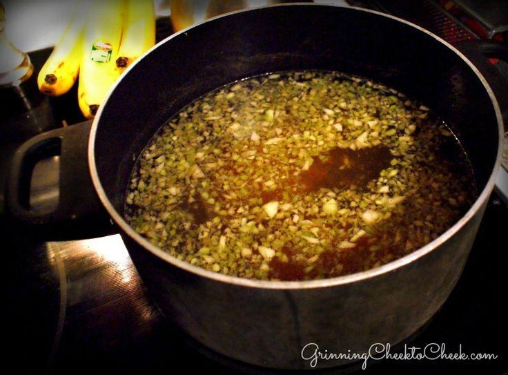 Vegetable Broth Fondue a