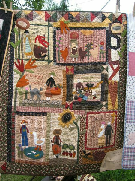 Folk Art Quilt Ideas : 414 best images about Cheri Quilts and Blocks on Pinterest Folk art, Quilt designs and Wool