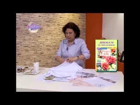Sublimación Textil - Silvana Mendoza en Bienvenidas Tv - YouTube