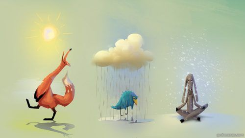 Zwierzęta i pogoda