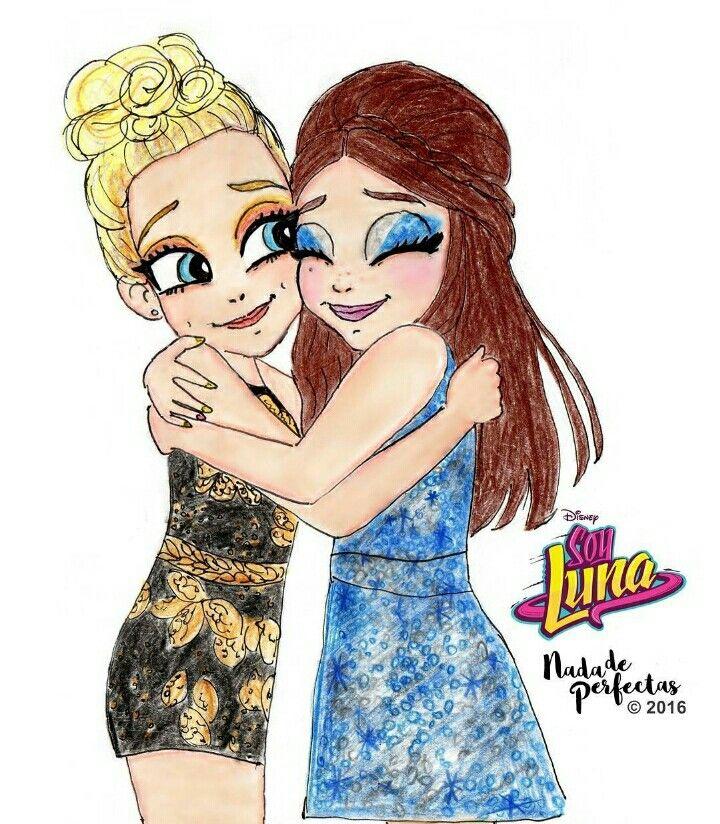 Luna y Ambar se hicieron  mejores amigas termino soy Luna pero igual termino…