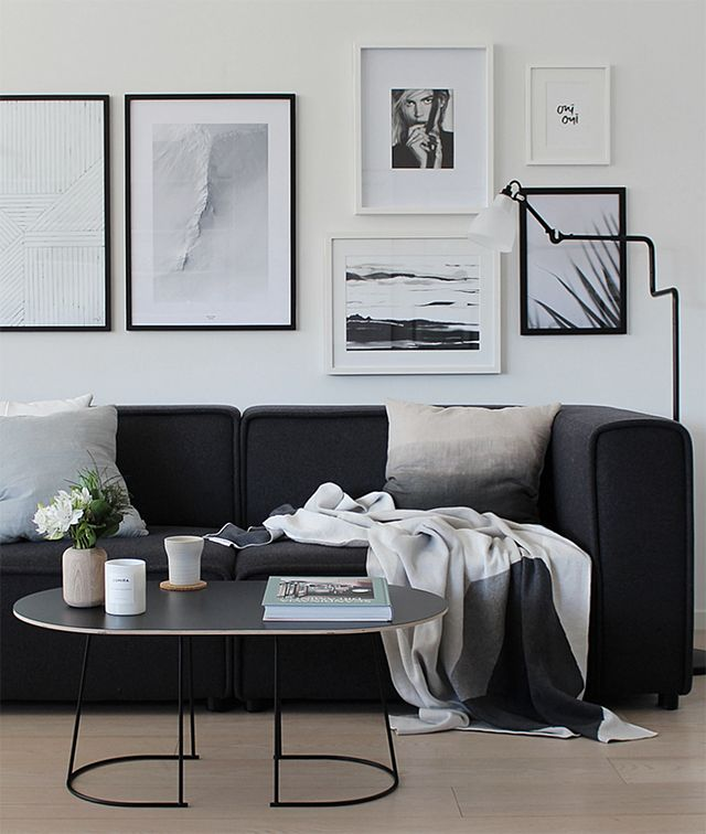 Living Room | A New Coffee Table and Light Shade