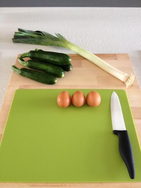 Quiche di zucchine e taleggio