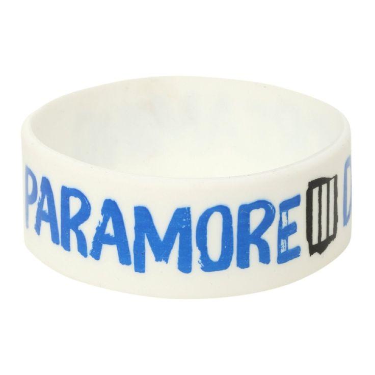 Paramore Daydreaming officiel nouveau Blanc Silicone Poignet Bandeau One Size: Amazon.fr: Vêtements et accessoires