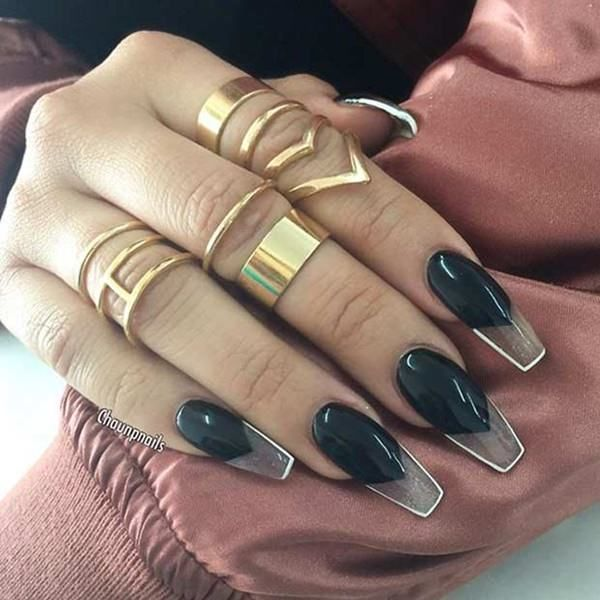 Top 40+ Pretty Coffin Nail Art Ideas