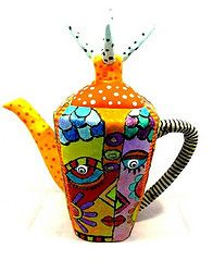 teapot polymer clay