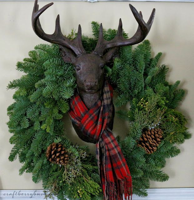 Craftberry Bush: A Farmhouse Christmas - Christmas Hutch and 8 Styling Tips