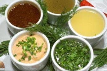Главное в салате — это.. соус! 10 рецептов легких соусов!