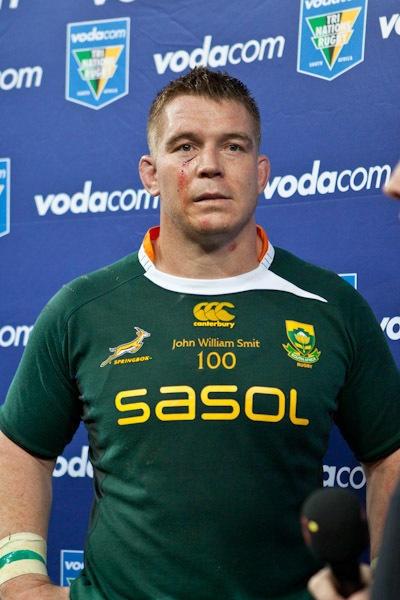 Rugby - NZ vs Springboks (Tri-Nations 2010) Captain Barney
