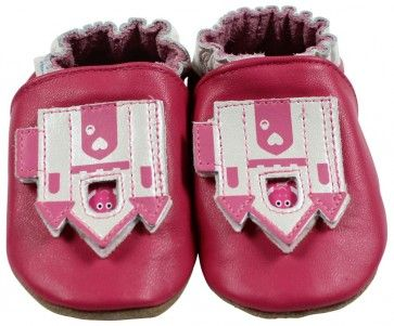 Robeez Peek A Boo Enchanted Castle Shoes 12-18 months