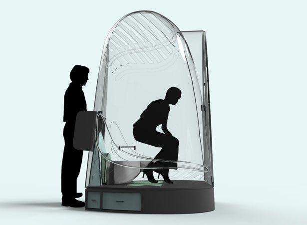 Biopod – Les toilettes publiques  du futur
