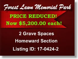 Featured Cemetery Listing - Forest Lawn Memorial Park - Los Angeles - Hollywood Hills, CA - 17-0424-2