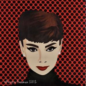 Audrey Hepburn por Kristin Freeman 2012