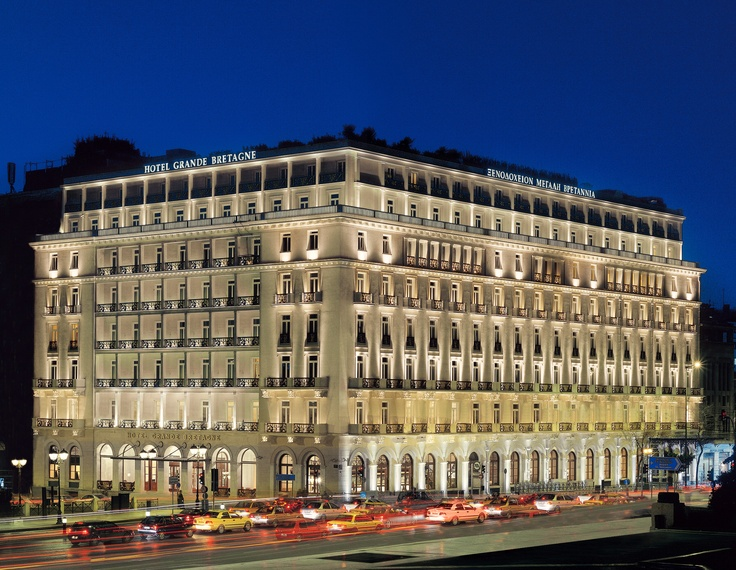 Hotel Grand Bretagne - Athens, Greece - Honeymoon