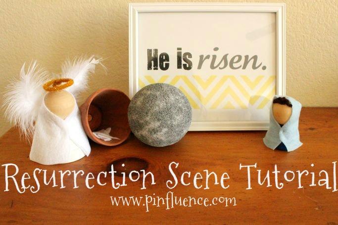 Resurrection Morning Scene
