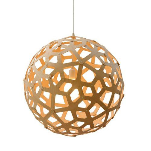 Coral pendant light for the entrance hall, to make a statement as soon as people walk into the house