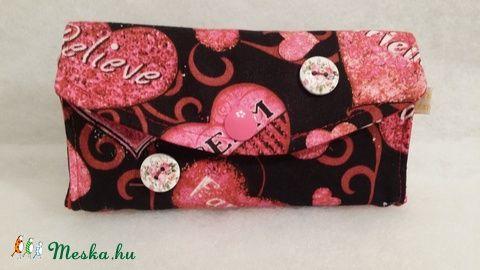 Meska - Szíves zsebkendőtartó solba66 kézművestől
