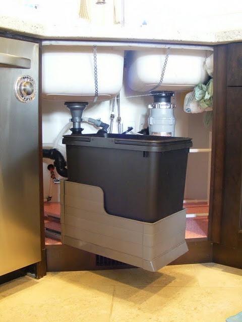 Recycling Bin Under The Sink Kitchen Ideas Pinterest