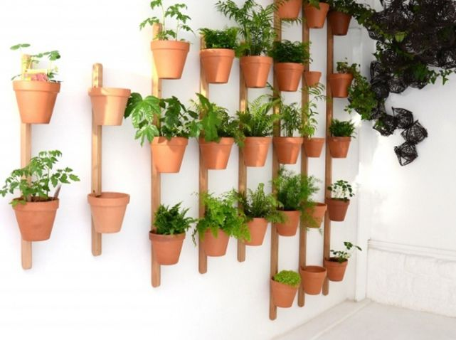 Pot à Plante Mural