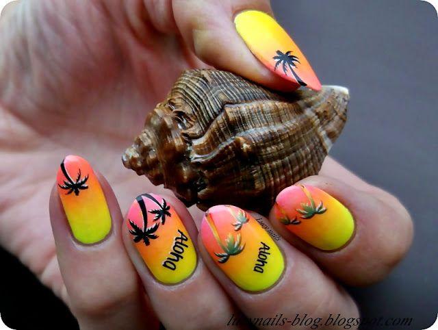 Naklejki plamy od EDbeauty- Profesjonalne ozdoby do paznokci