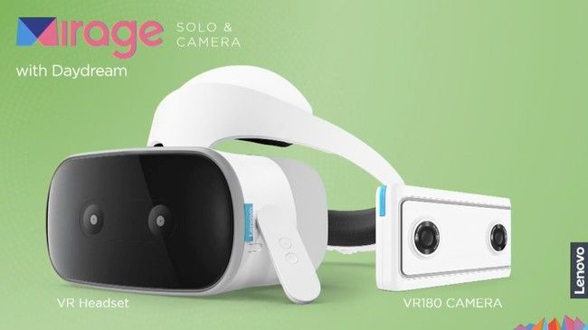 Mirage Solo y Mirage Camera: para Lenovo la realidad virtual va de gafas independientes y una cámara point & shoot